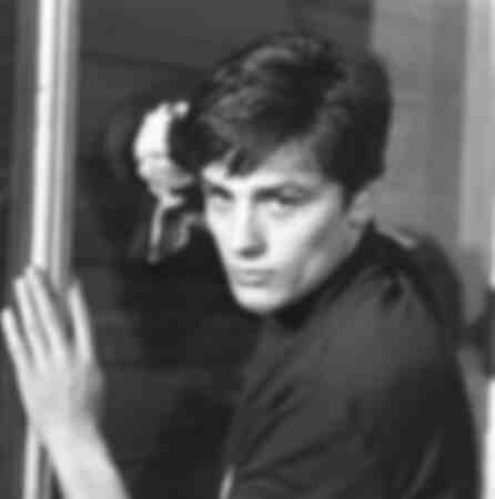 "Alain Delon in ""Rocco and his brothers"""
