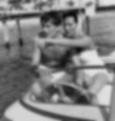 Alain Delon et Bella Darvi en 1958