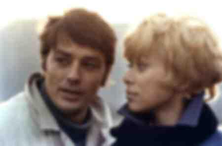 Alain Delon en Mireille Darc