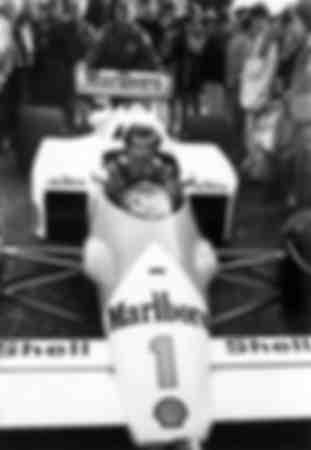 Alain Prost à Paris le 19 décembre 1986