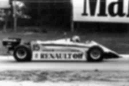 Alain Prost Grand Prix de Belgique 1982