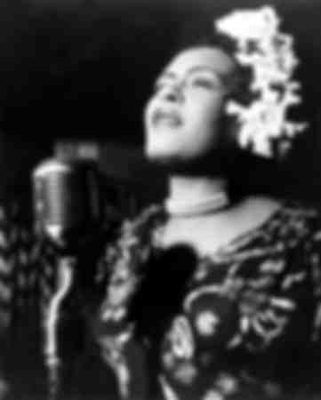 Billie Holiday in den 1940er Jahren