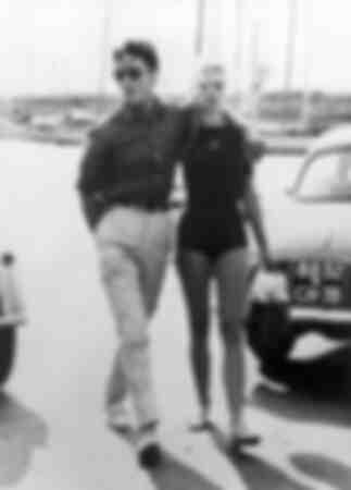 Brigitte Bardot à St Tropez 1959