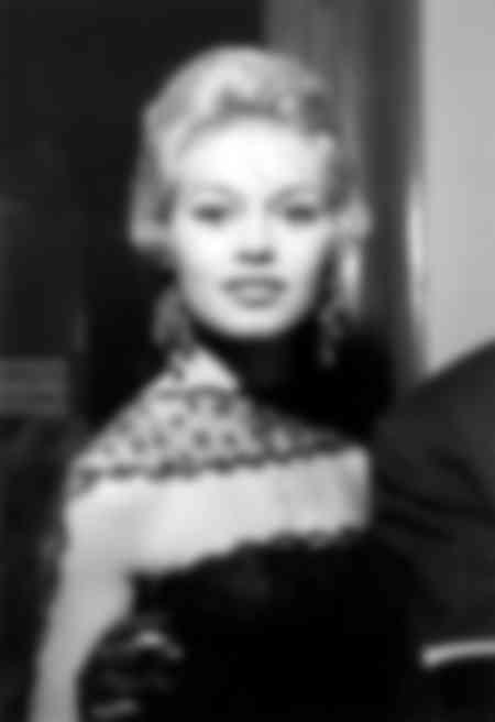 Brigitte Bardot le 21 janvier 1958