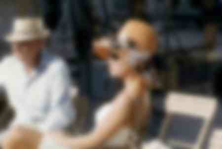 Brigitte Bardot sur le Tournage