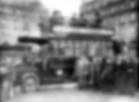 Paris Bus around 1910-1920