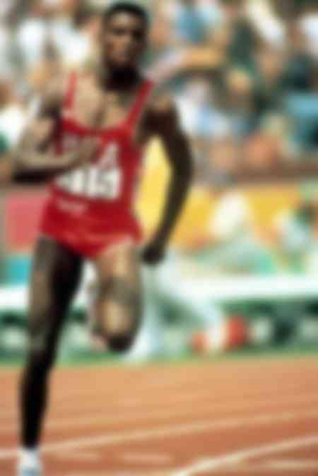 Carl Lewis - 100 meters