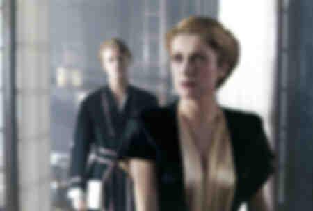 Catherine Deneuve y David Bowie en la película The Predators