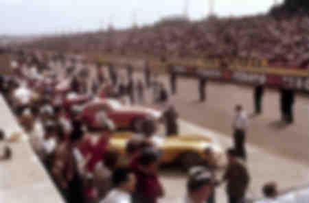 Circuit de course du Mans France 1959