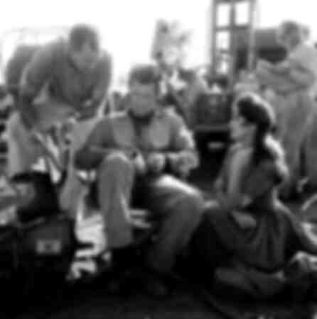 Clint Eastwood avec son équipe