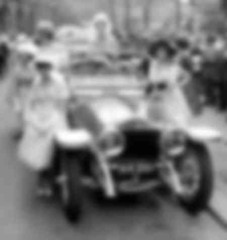 Concours d'élégance automobile en 1959