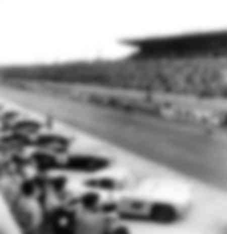 Departure of the 24 hours of Le Mans from 1956