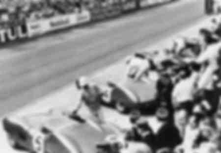 Inizio della 24h di Le Mans France 1959