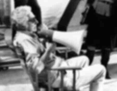 Dino Risi à Rome en 1976