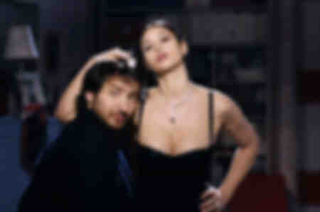 Edouard Baer and Monica Bellucci
