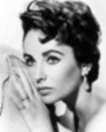 Elizabeth Taylor in the 1950s