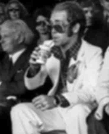 Elton John at Wimbledon