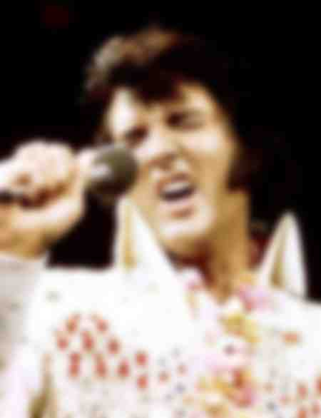 Elvis Presley in 1973