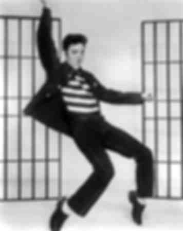 Elvis Presley The Rock of the Prison 1957