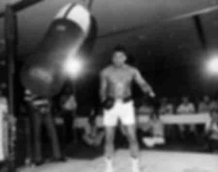 Muhammad Ali Training in Washington