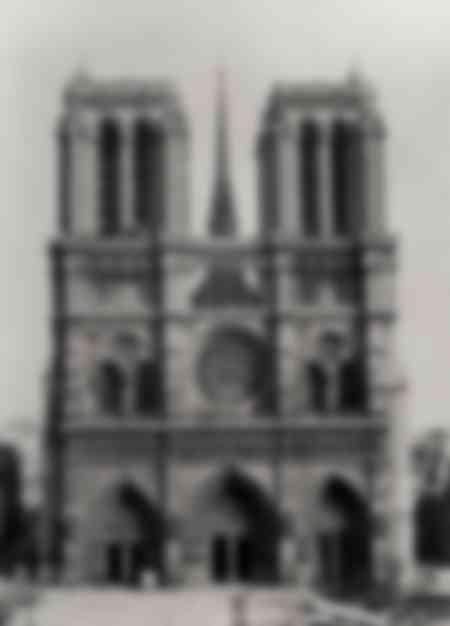 Façade de Notre-Dame de Paris