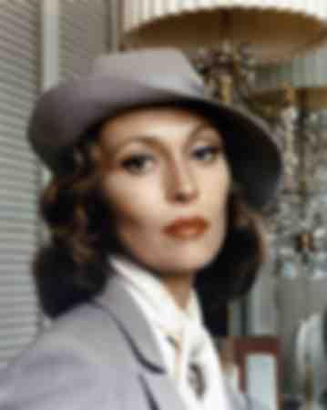 Faye Dunaway in 1974