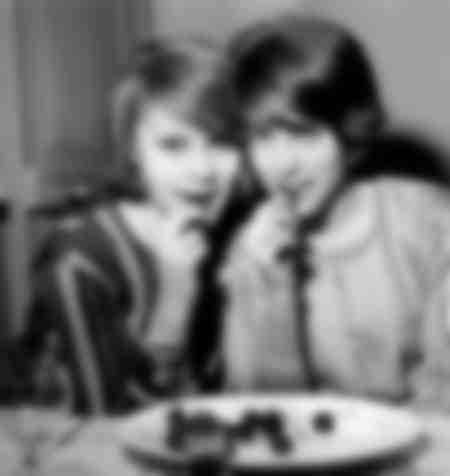 Françoise Dorleac et Catherine Deneuve en 1960