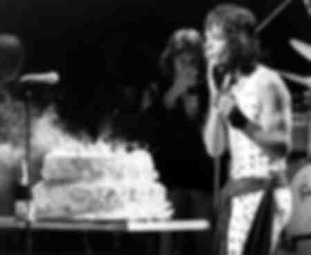 Pastel De Cumpleaños De Mick Jagger