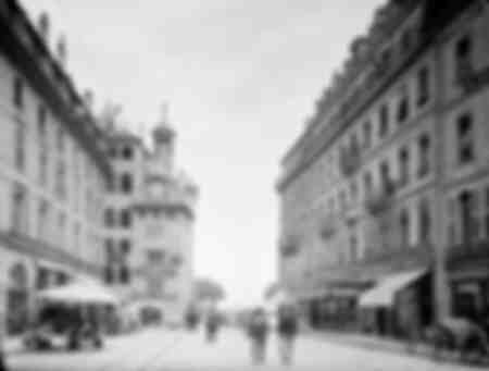 Genève - Handelsstraat - 1900
