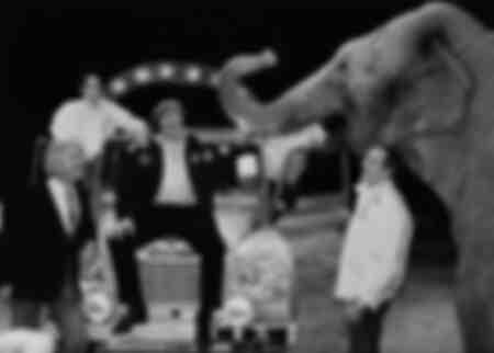 Gérard Depardieu al Cirque Gruss nel 1984