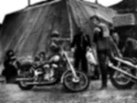 Harley Davidson sul set del film Easy Rider