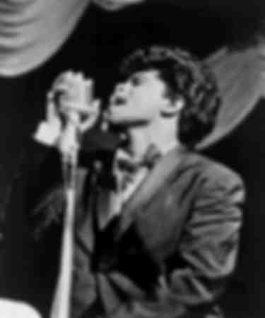 James Brown performing