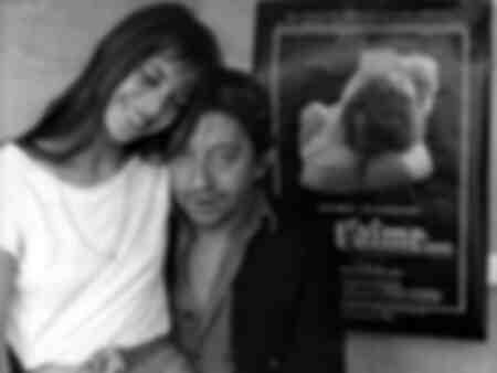 Jane Birkin and Serge Gainsbourg in Germany