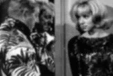 Jean Gabin y Mireille Darc 1964