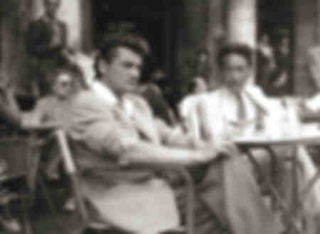 Jean Marais and Jean Cocteau in Italy 1947