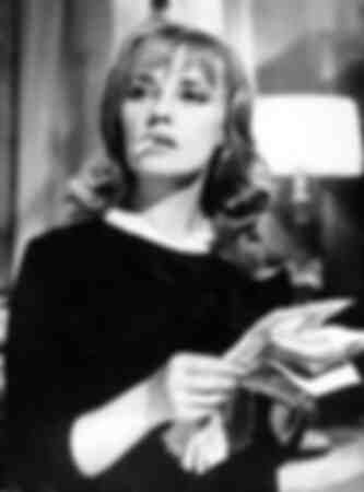 Jeanne Moreau en el papel de Eva
