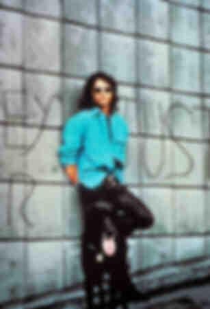 Jim Morrison con il suo cane