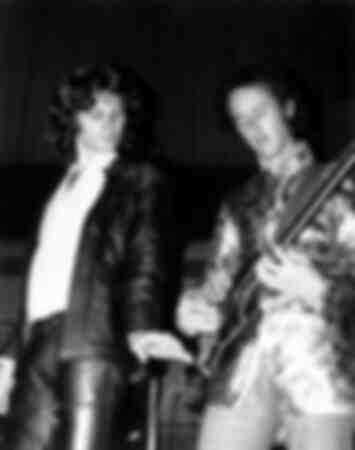 Jim Morrison en Robby Krieger