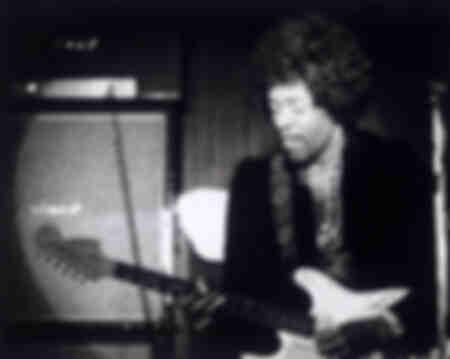Jimi Hendrix-amerikanisches Genie der Sechs-Saiter