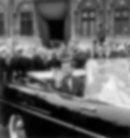 John Fitzgerald Kennedy à Paris en 1961