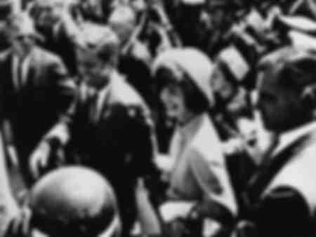 John Fitzgerald Kennedy med Jacqueline Kennedy