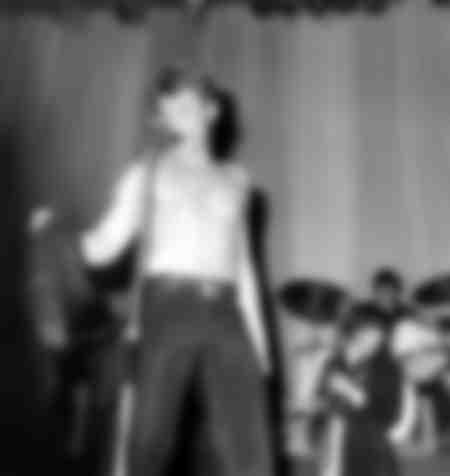 Johnny Hallyday en concert à l'Olympia en1966