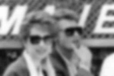 Johnny Hallyday et Nathalie Baye en 1985