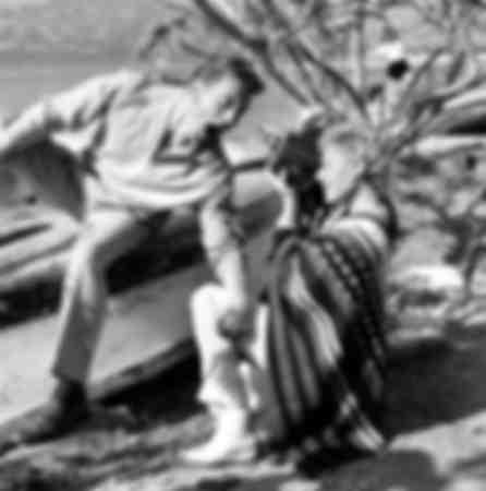 Kirk Douglas and Tilda Thamar