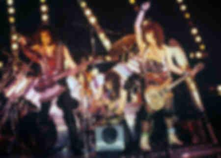 Kiss sul palco nel 1983