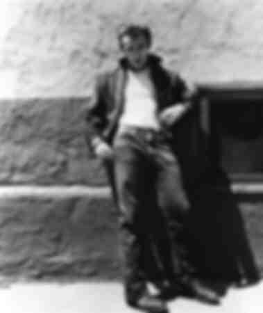 l'acteur américain James Dean en 1955