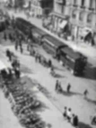 Spårvagn i Milano 1950