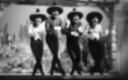 Los Frères Jacques en La Rosa Roja 1951