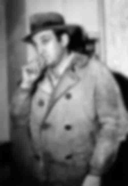 Lino Ventura en tournage en 1968