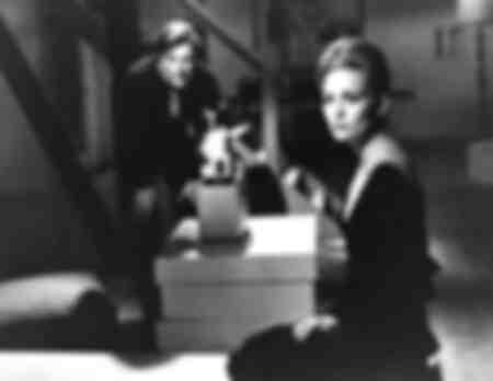 Marcello Mastroianni and Faye Dunaway